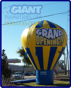Cold air balloon giant inflatable advertising balloon.