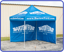 Custom Tent for Bartow Ford