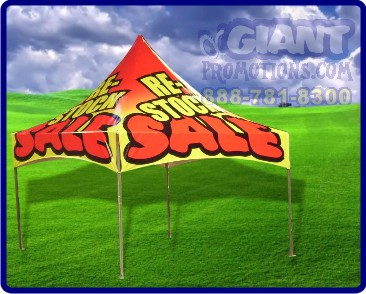 Re stocking sale tent
