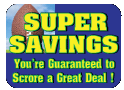 Super Bowl Savings Button