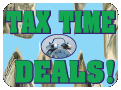 Tax Time Deals Button